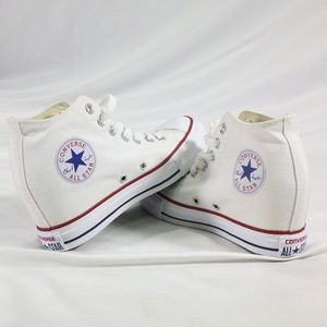 RARE CONVERSE Chuck Taylor Lux Wedge Mid White